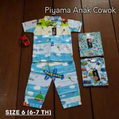 Jual Piyama Anak Cowok Size 6 Branded Murah