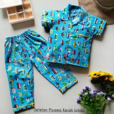 Baju Tidur / Piyama Anak Size KIDS (0-5 thn) Motif COWOK