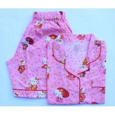 Promo Piyama Baju Tidur Kitty Pink Akhir Tahun