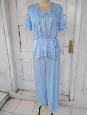Piyama Satin/ Lingerie Satin/ Baju Tidur Setelan Celana