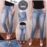Spesifikasi Pj Celana Wanita Skiny Biru Muda Celana Jeans Cewek Terbaru