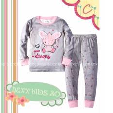 Harga Pjne30C Pajamas Grey Pink Mouse Terbaik