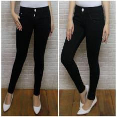 Planet Jeans Celana Jeans Wanita PR slimfit/pensil/ngaret/skiny hitam