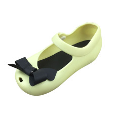 Plastik Busur Jeli Sepatu Perempuan Sandal Ikan .
