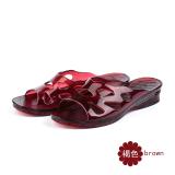 Spesifikasi Plastik Dalam Ruangan Perempuan Musim Semi Dan Musim Panas Sandal Ibu Dan Sandal Kristal Sandal Coklat Baru