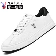 Playboy Kets Putih Musim Semi Baru Sepatu Korea Modis Gaya Kebugaran (Putih)
