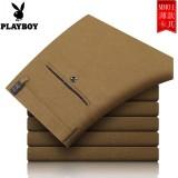 Jual Playboy Musim Panas Hijau Musim Panas Bagian Tipis Setengah Baya Celana Formal Pria Celana Cargo Khaki Play Boy Original