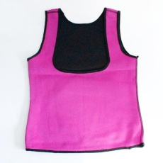 Ukuran Plus Panas Pakaian Pembentuk Badan Neoprena Dorong Ke Atas Rompi Pelatih Perut dan Pinggang Perut