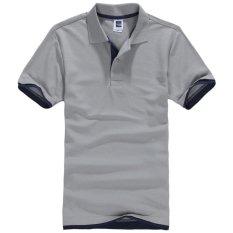 Jual Plus Ukuran Xs 3Xl Baru Pria Polo Shirt Pria Wanita Unisex Pendek Sleeve Kapas Kemeja Olahraga Golf Jerseys Mens Kemeja Casual Bernapas Intl Lengkap