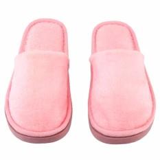 Toko Rumah Mewah Kapas Sandal Wanita Katun Lembut Dan Hangat Dalam Sunyi Sandal Berwarna Merah Muda Terlengkap