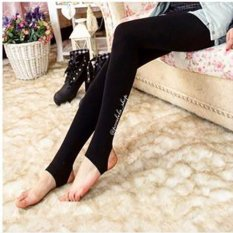 Beli Pocabela Shop Stirrup Leggings Hitam Seken