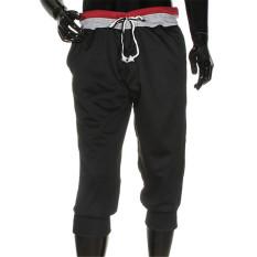 Review Podom Fashion Laki Laki 3 4 Celana Dengan Olahraga Bang Bang Pendek Selutut Longgar Tali Joging Olahraga Harem Pants