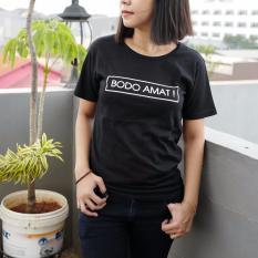 POLARISSHIRT - T-shirt BODO AMAT Tumblr Tee Cewek / Kaos Wanita / Tshirt Cewe Cotton Combad / Kaos Oblong / Trending Shirt