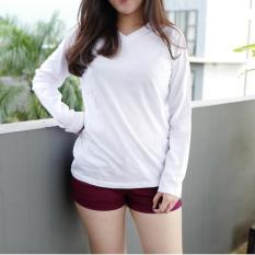POLARISSHIRT - Tshirt Polos Lengan Panjang Longsleeve Cewek / Kaos Wanita / Tshirt Cewe Cotton Combed Kaos Cewek