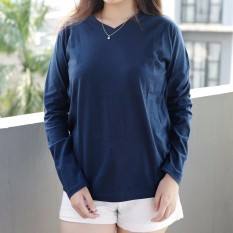Rp 40.000. POLARISSHIRT - Tshirt Polos Lengan Panjang Longsleeve Cewek / Kaos Wanita / Tshirt Cewe Cotton Combed ...