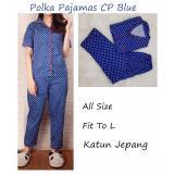 Spesifikasi Polka Pajamas Biru Benhur Cp Pakaian Tidur Wanita Dewasa Piyama Wanita Dewasa Piyama Celana Panjang Baju Tidur Celana Panjang Wanita Baru