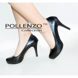 Harga Pollenzo Alisha Fira Shoes Black Asli