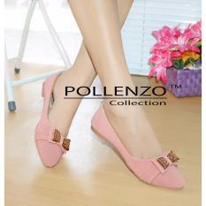 Promo Pollenzo Ballerina Flats Shoes Peach