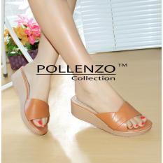 Pollenzo Florentino Wedges Camel Pollenzo Diskon 30