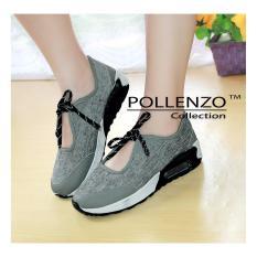 Toko Pollenzo Platform Slip On Sport Casual Shoes Gray Terlengkap Jawa Barat