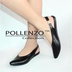 Jual Beli Pollenzo Selop Wanita Flats Shoes Loafers Karet Elastis Di Jawa Barat