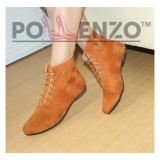 Harga Pollenzo Women S Fashion Boots Ma 251 Tan Yang Murah