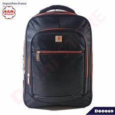 Spesifikasi Polo Cavallo Tas Ransel Laptop Backpack 55827 Hitam Online