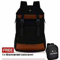 Review Polo Change Tas Ransel Pria 8181 17 Zv Backpack Rain Cover Black Polo
