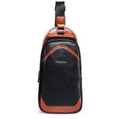 Spesifikasi Polo Feidka Man S Shoulder Bag Tsj330 Black Tas Pria