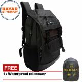 Spesifikasi Polo Gives Tas Ransel Design Korea 18 Inchi Pv1312 Material Kanvas Original Import Coffee Raincover Yg Baik