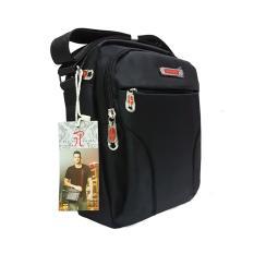 Diskon Produk Polo Hoby Tas Selempang 9 Inchi 111 08 Polyester Nylon Import Original Black