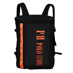 POLO HOMME Tas Ransel WT-77069-5 Backpack With Rain Cover Anti Hujan Hitam