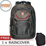 Jual Polo Lodsvek Tas Ransel Pria 18 Inchi 566 18 Polyester Nylon Waterproof Black Raincover Online Di Dki Jakarta