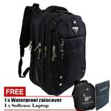 Cuci Gudang Polo Milano Tas Ransel Tas Laptop Tas Punggung Tas Kerja Dan Kuliah 88092Rz 18 Highest Spec Polo Backpack Import Original Black Free Softcase Laptop Free Raincover