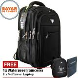 Toko Jual Polo Milano Tas Ransel Tas Laptop Tas Punggung Tas Kerja Dan Kuliah 88093 18 Highest Spec Polo Backpack Import Original Black Free Softcase Laptop Free Raincover