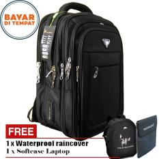 Miliki Segera Polo Milano Tas Ransel Tas Laptop Tas Punggung Tas Kerja Dan Kuliah 88093 18 Highest Spec Polo Backpack Import Original Black Free Softcase Laptop Free Raincover