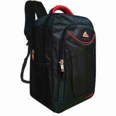 Cuci Gudang Polo Net Embos Backpack Tas Ransel Pria 18 Inchi 4012 18 Zv Polyester Nylon Original Black Raincover