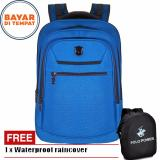 Jual Polo Power Tas Ransel Pria 18 Inchi Expandable Pp072016 18 Highest Spec Polo Backpack Import Original Blue Raincover Lengkap