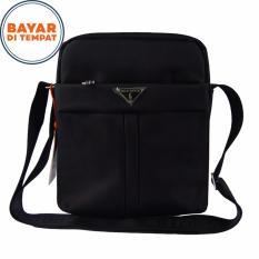 Cuci Gudang Polo Power Tas Selempang 006 M Original Black