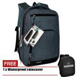 Beli Carboni Tas Ransel Laptop 17 Inchi Ra00013 Polyester Serat Sintetis Original Grey Raincover Dengan Kartu Kredit