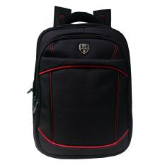 Toko Polo Top Ransel Backpack Expandable 9011 Hitam Online Indonesia