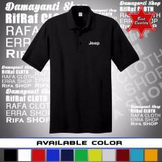 Jual Polo Shirt Jeep Kaos Kerah Jeep Di Indonesia