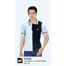 Polo Shirt / Kaos Kerah Wangky Pria 579-05 Azzurra Original