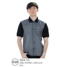 Polo Shirt / Kaos Kerah Wangky Pria 584-10 Azzurra Original