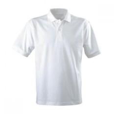 Kaos kerah Polos Shirt Krah Polos Pendek Putih