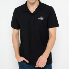 POLO-SHIRT LEA(S-M-L-XL) HITAM