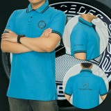 Review Polo Shirt Mercedes Benz Blue Sky Edition Di Jawa Barat