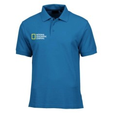 Polo Shirt National Geographic Leaning - Biru