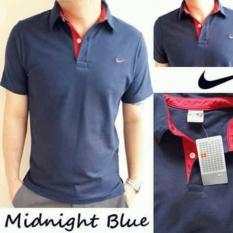 Polo shirt Original Warna Biru