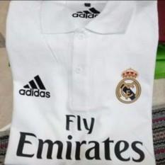 Polo Shirt XXXL 3XL REAL MADRID FC White